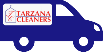 Tarzana Cleaners delivery van